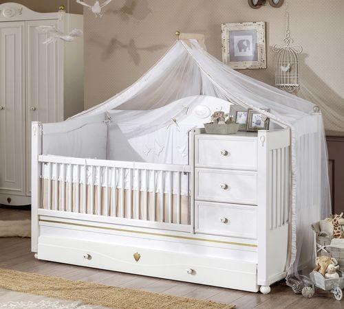 Letto convertibile (80x180 cm) per neonati con letto per gli ospiti , Softy  , 20.23.1015.00