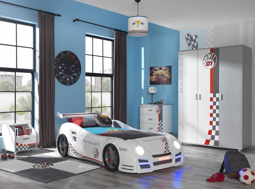 Cameretta di macchina -Turbo White