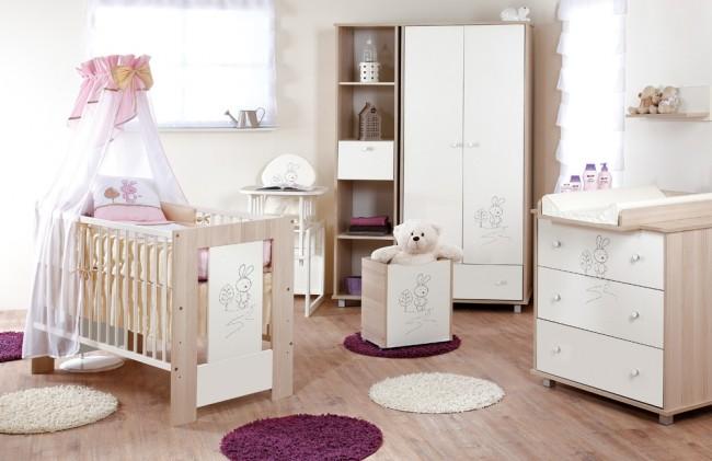 Cameretta Coniglietto per neonati