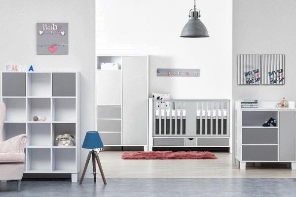 Camerette per neonati - Holly Grigio