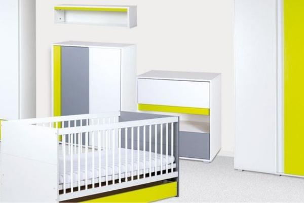 Camerette per neonati - Irene lime