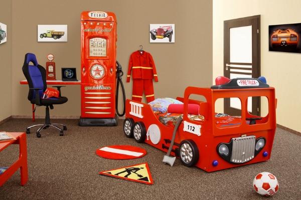 Letti per pompieri e poliziotti