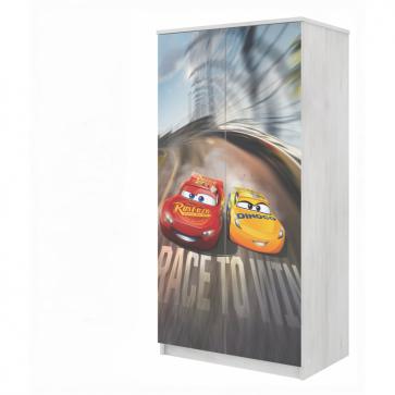 Armadio DISNEY CARS 3 Saetta McQueen-per la cameretta