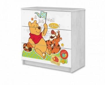 Cassettiera Winnie de Pooh e il Tigre