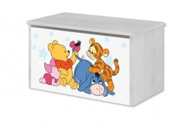 Contenitore per giocattoli Winnie de Pooh e baby