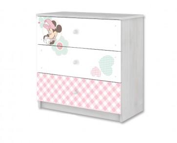 Cassettiera della collezione Minnie Mouse