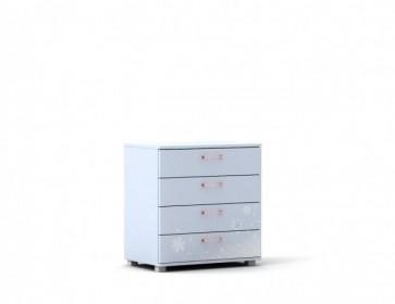 Cassettiera con 4 cassetti-Cameretta Frozen