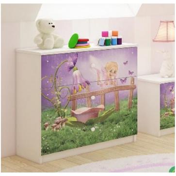 Cassettiera per la  cameretta- Disney Elfo