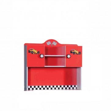 Scrivania supplementre rosso– Turbo S