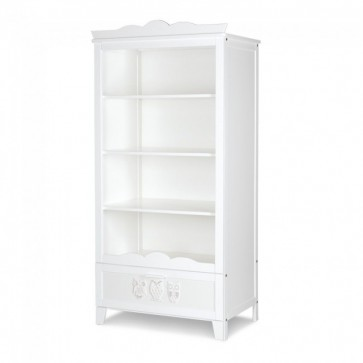 Libreria bianca per la cameretta-Marcell