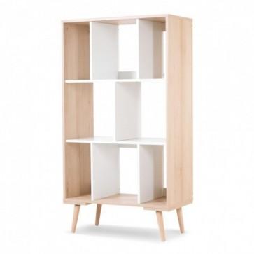 Libreria bianco-faggio-per la cameretta-Sofie