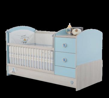 Letto convertibile per neonati (75x160)