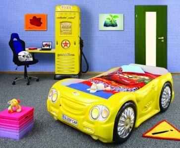 Letto Macchina SleepCar - giallo