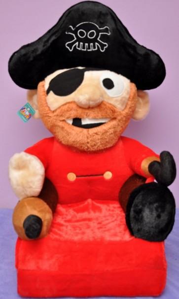 Poltrona di peluche pieghevole per bambini-Pirate