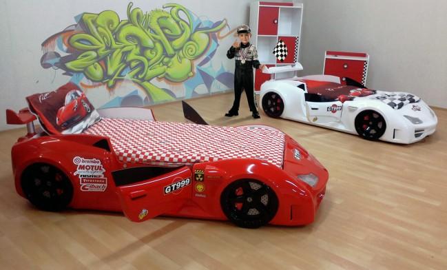Grand prix enzo auto letto rosso full porta aperta - Letto bambino macchina ...