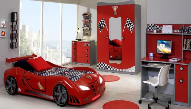 Grand prix extreme auto letto rosso full extra - Letto macchina per bambini ...