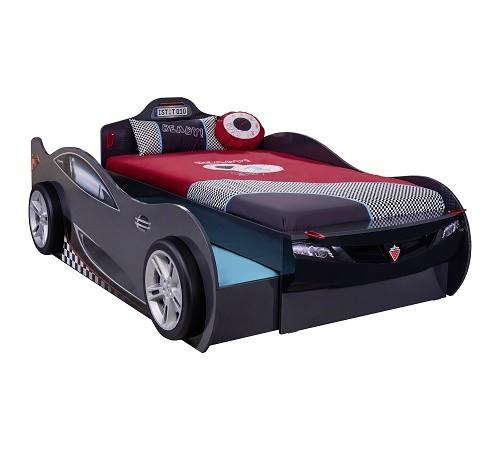 Autoletto a forma di coupe con letto per gli ospiti for Letto per ospiti