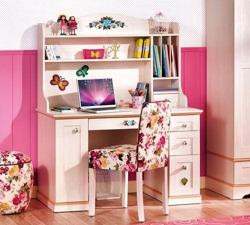 Home Camerette per giovani Flora Elemento supplementare per scrivania ...