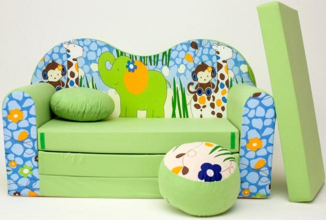 Cuscino rotondo in colore del divano pouf rotondo verde for Divano rotondo