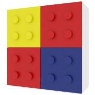 Comó con 4 anta cubo di costruzione per entusiasti di Lego