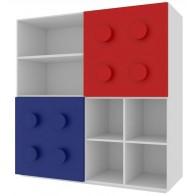 Comó per bambini con contenitori per entusiasti di Lego