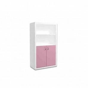 Libreria larga per la camera dei bambini (pink) – Filippo
