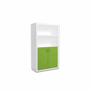 Libreria larga per la camera dei bambini (verde) – Filippo