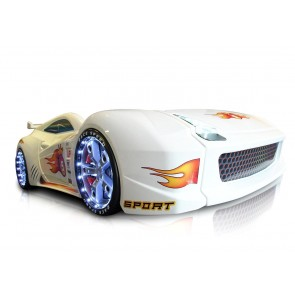 Grand Prix Speed autoletto bianco - full extra