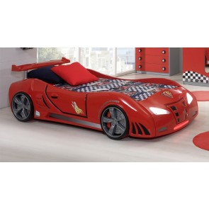 Grand Prix Extreme auto letto - rosso, standard dettagli