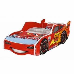 Autoletto mcqueen rosso 160x80 cm