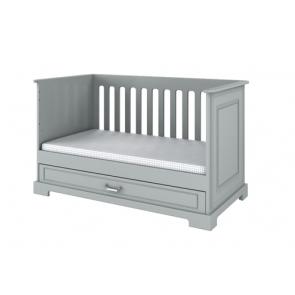 Letto convertibile grigio (70x140),funzione sofa  – Babystyle Inez