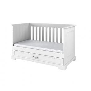Letto convertibile bianco (70x140),funzione sofa – Babystyle Inez
