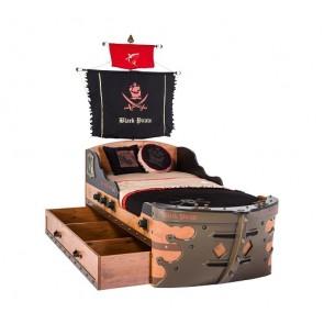 Contenitore per lenzuole e giocattoli  - Pirate