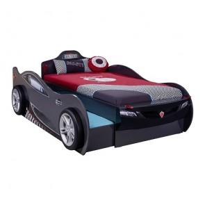 Autoletto Coupe con letto per gli ospiti (antracite) (90x190 cm – 90x180 cm)