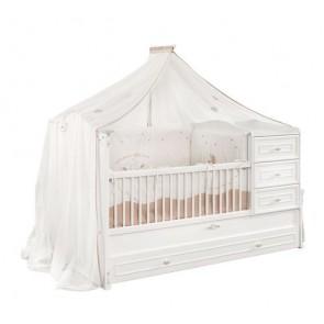 Baldacchino (80x130 cm) per bambini - Romantic - 20.21.4916.00