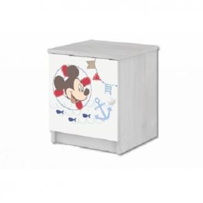 Comodino con Mickey Mouse