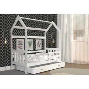 Letto a forma di casetta per bambini-  DOMEC- 2 160x80