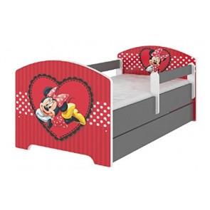 Letto Disney Minnie Cuore