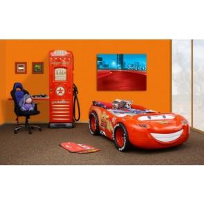 Letto a tema Cars 2 Saetta McQueen