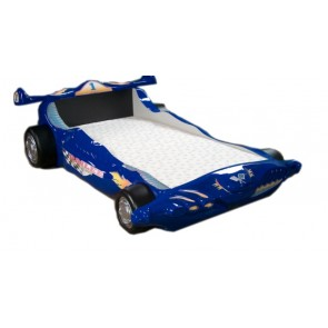 Letto Macchina Formula 1 F1 - blu