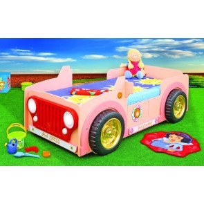 Letto Jeep – pink - e materasso a gratuito