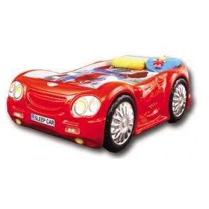 Letto Macchina SleepCar - rosso