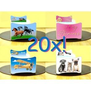 SMB lettini con figure (180x90) con cassapanca e materasso a gratuito