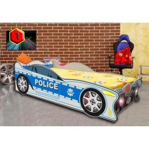 Mini autoletto polizia (140x70)