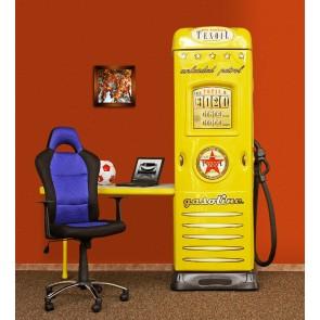 Armadio scrivania bambino bambini Oil Station – giallo