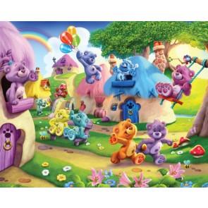 Walltastic stanza dei bambini immagine tapetto Belly Button Bears