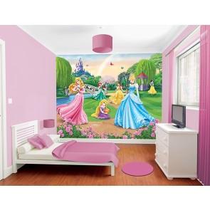 Walltastic stanza dei bambini immagine tapetto Disney principessa