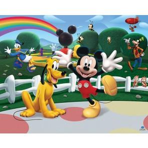 Walltastic stanza dei bambini immagine tapetto Mickey Mouse Clubhouse