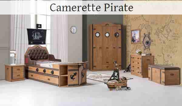 Camerette di pirati