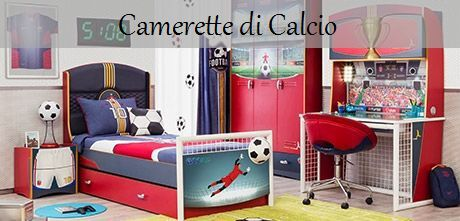 Camerette per bambini - Calcio